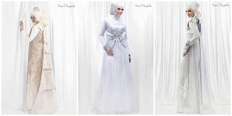 gaun pengantin muslim simple elegan fashion 6 gaun pengantin muslimah elegan vemale com