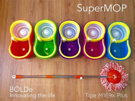 Mop Alat Pel Lantai Magic Mop Spin Mop Keranjang Air Mincer alat pel lantai fibermop mop m169x botol pewangi