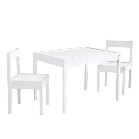 3 Table And Chair Set by 3 Table And Chair Set In White Da7501w