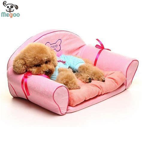 dog princess bed luxury pink princess dog beds detachable wash small dog