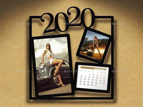 customizable calendar  photo frame   rapidgraf graphicriver