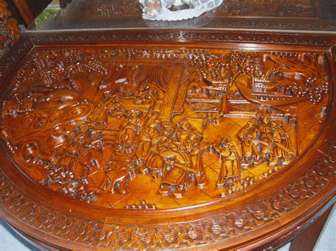 Keller Dining Room Furniture by Chinese Hand Carved Dining Room Table Amp Chairs For Sale
