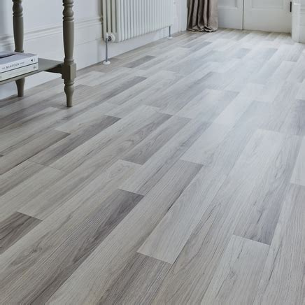 West Island Kitchen by Professional Light Grey Oak Laminate Flooring Howdens