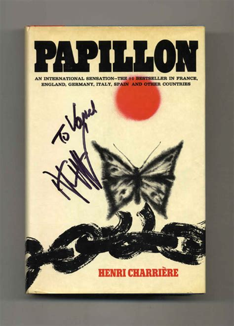papillon 1st us edition 1st printing henri charri 232 re