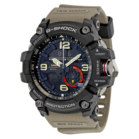 G Shock Gpg 1000 Black casio g shock black resin mens gg1000 1a5 ebay