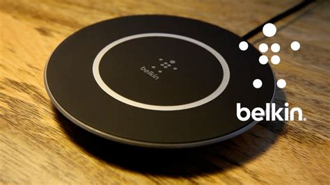 belkin chargeur  induction boostup youtube