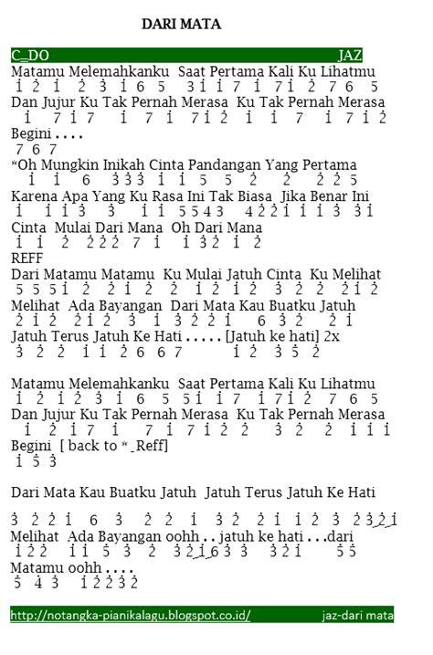 download lagu jaz kasmaran not angka mardua holong belajar not angka