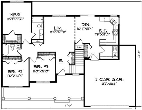 Small House Plans Maximize Space Minimal Hallways Maximize Space 89095ah Architectural