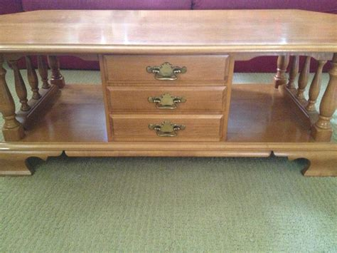 Prince Furniture Thompson by Sagers Furniture Roxton Maple Coffee Table Saanich