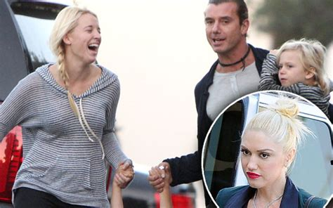 gwen stefani on gavin rossdales affair it was months of a look at gwen gavin with the nanny who tore them apart