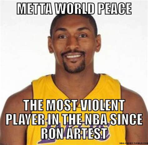 Ron Artest Meme - knicks and metta world peace agree on 2 year deal page 9