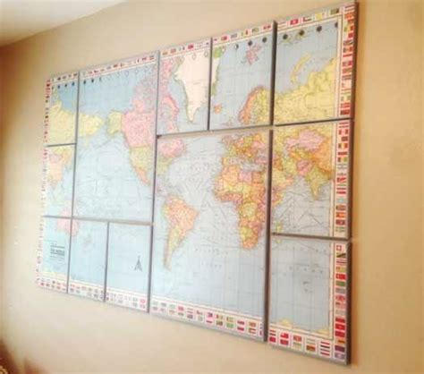 map world canvas craftionary