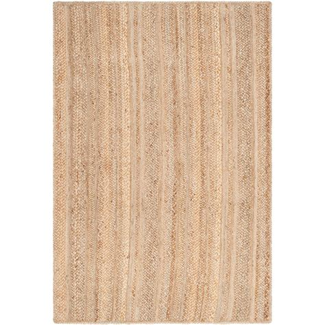 Safavieh Natural Fiber Beige 4 Ft X 6 Ft Area Rug Nf923a 4 Ft Area Rugs