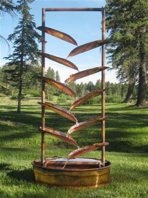 6 foot trellis sculptural fountains for landscape architecture home and