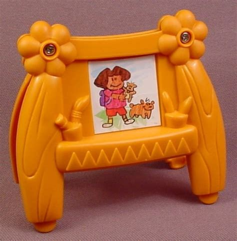 dora talking doll house dora the explorer talking dollhouse brown easel playset accessory 3 1 2 inches tall