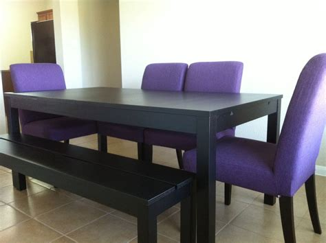 dining set from ikea bjursta table and bench and