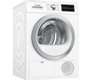 Bosch White Hair Dryer white bosch serie 6 wtg86402gb condenser tumble dryer