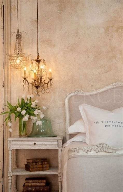 shabby chic bedroom chandelier 24 french style bedrooms messagenote