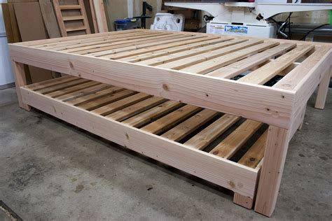 how to build a trundle bed wooden trundle bed plans bed furniture decoration