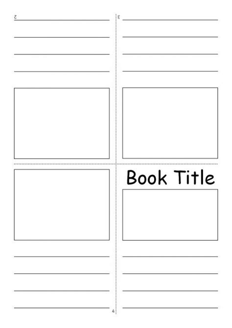 Editable Fold Over Mini Book Templates Sb7366 Sparklebox Picture Templates