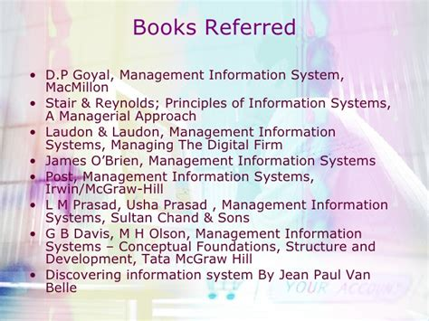 Mis Book For Mba by Mba Module Mis