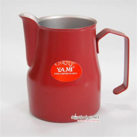 Yami Teflon Milk Jug Mug Teflon Yami Tempat Pembuih 600ml ca ä 225 nh sá a yami 550ml m 224 u ä á â teflon milk jug si 234 u thá dá ng cá bar v 224 cafe