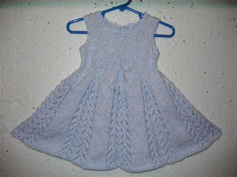 knitted dress patterns lacy tunic baby dress knitting pattern ms s place