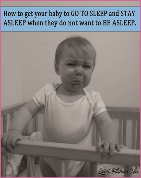 Tips On How To Get Baby To Sleep In Crib How To Get Babies To Sleep Latestfashiontips