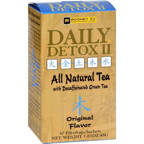 Daily Liver Detox Tea by Wellements Daily Detox Ii All Tea Original 30