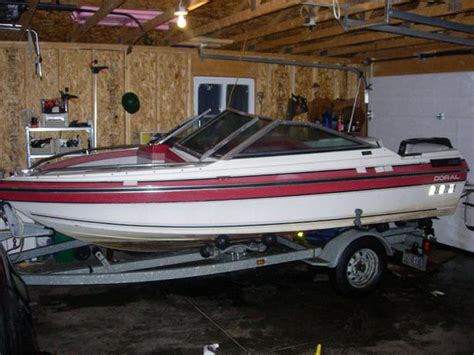 bowrider boats for sale ottawa gatineau doral colt bowrider 40 hp mercury galvanized trailer