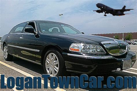 Airport Town Car by Logan Airport Car Service Limo Rates Boston Ma