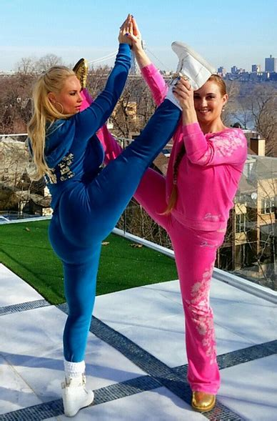 T And Coco Pose by Brighten Up Your Day With This Routine By Coco