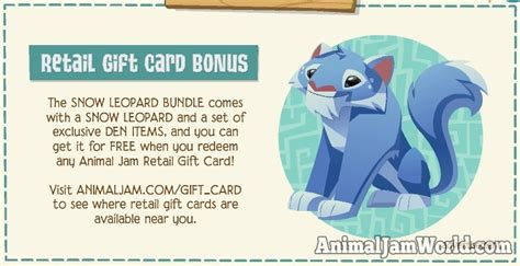 Animal Jam Retail Gift Card - strange stone disappeared adventures open to all jammers animal jam world
