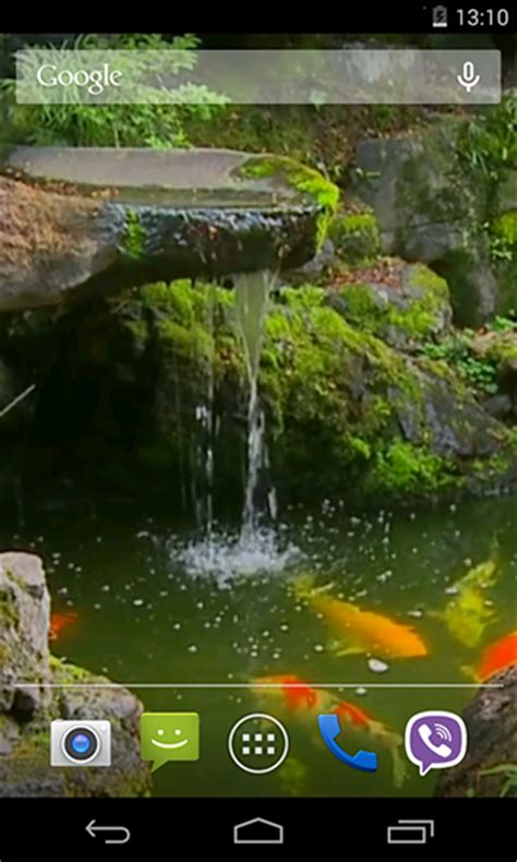 koi live wallpaper full version for android pond with koi live wallpaper for android pond with koi