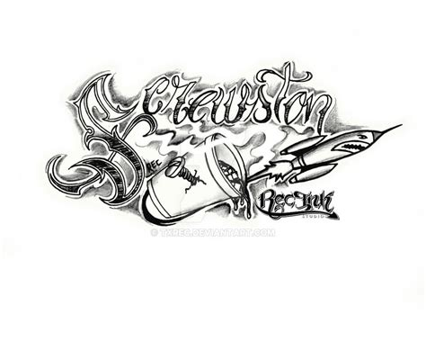 h town tattoo designs screwston htown jose hernandez aka rec by txrec on