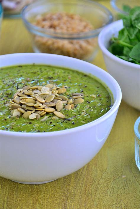 Chili Powder Detox Drink by Cool With This Green Goddess Summer Soup Chili