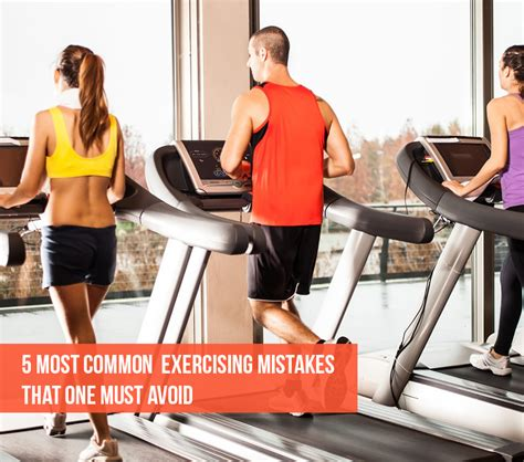 Exercising Errors by Exercising Mistakes You Should Avoid
