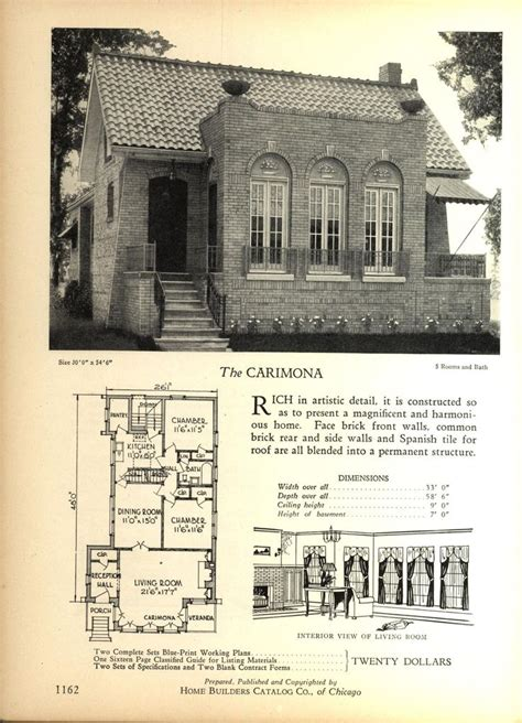 vintage house plans the world s catalog of ideas