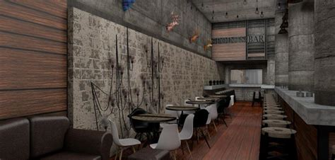 Cafe Bar Interior Design by Bar Cafe Design Uberkreative