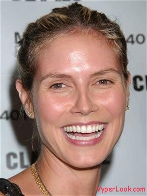 Heidi Klum Needs Some Makeup by Mcolsoqo Models Without Makeup
