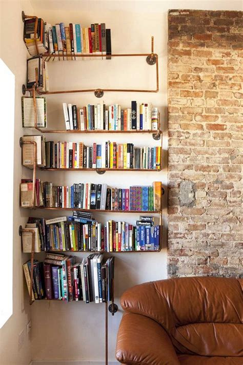 made to order copper pipe shelving