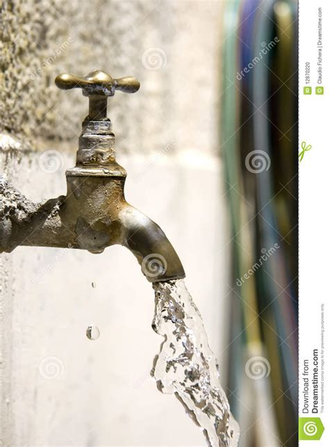 Faucet Dripping Tap Falling Water Stock Photo Image 12870220