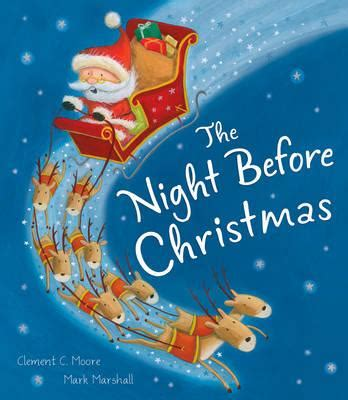 the night before christmas 068983683x the night before christmas clement c moore 9781848959118