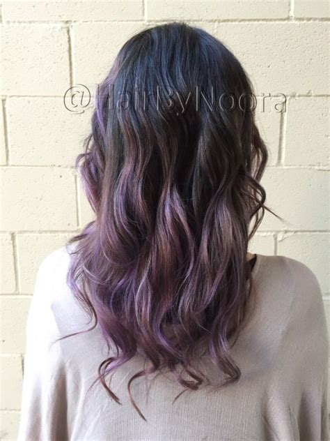 lilac higlights lilac balayage lavender purple hair ombr 233 haircut waves