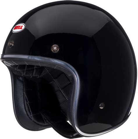 Handmade Motorcycle Helmets - bell custom 500 solid black home motorcycle helmets