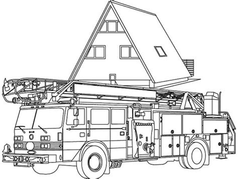 coloring page of a fire truck get this fire truck coloring pages free to print 30018