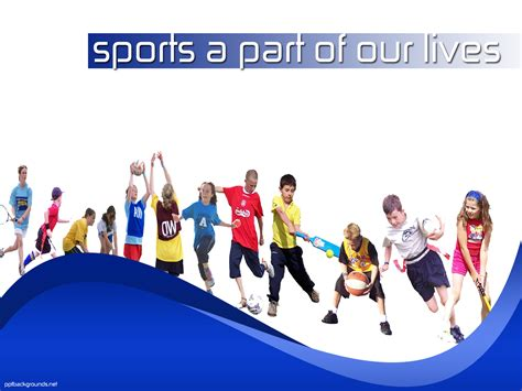 sport powerpoint template sports powerpoint templates free education