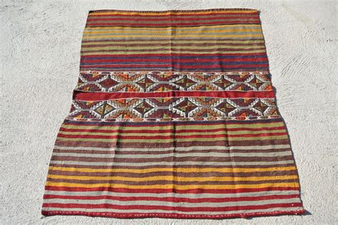 Rug Sacks by Antique Tribal Pile Rug Sack Flatwoven Rug Pile