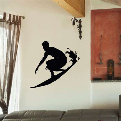 surfing wall stickers surf decals promotion shop for promotional surf decals on aliexpress