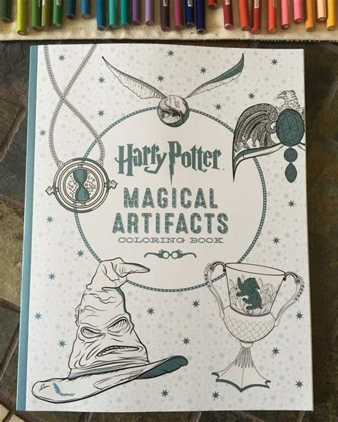 harry potter coloring book artifacts the harry potter coloring book harry potter amino